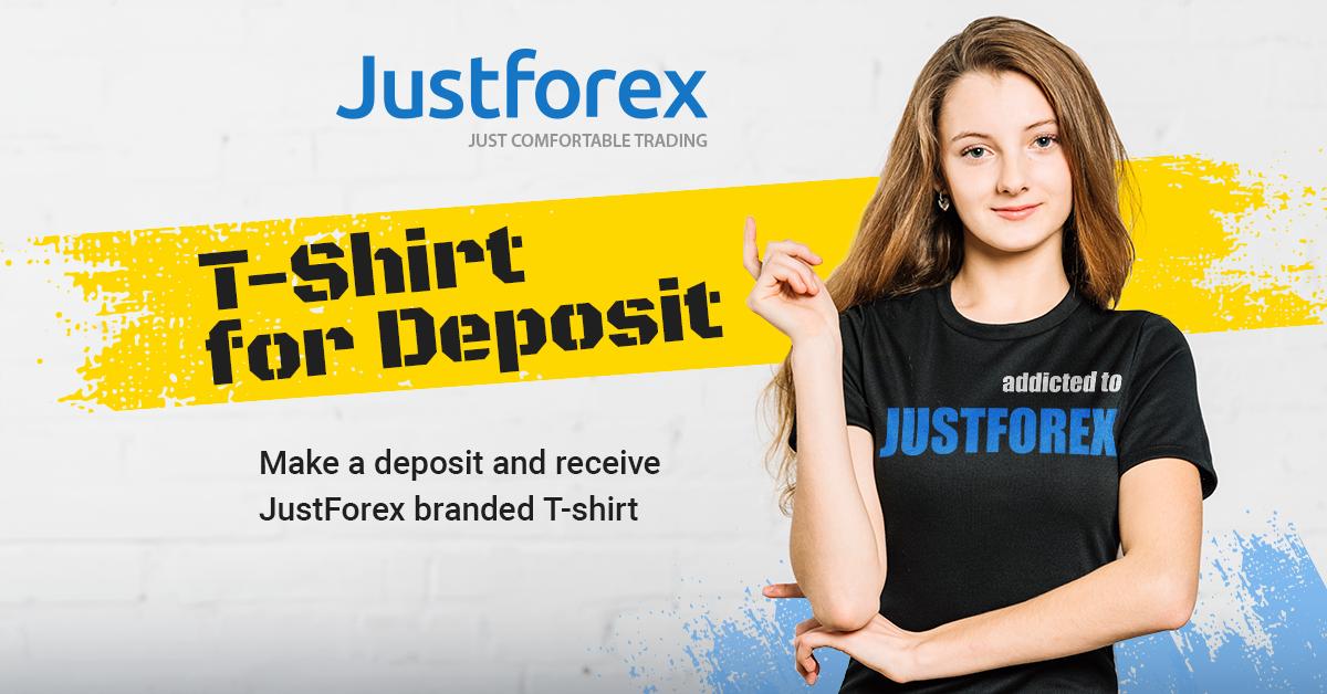 Justforex merchandise